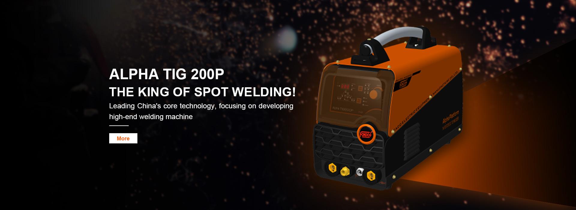 DC TIG Welding Machines TIG 200