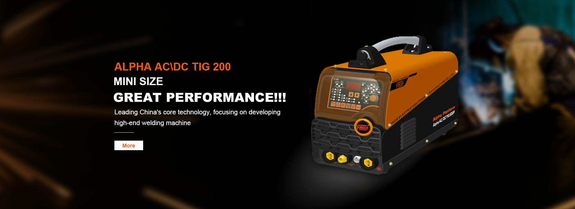 AC DC Pulse TIG Welding Machines  AC DC TIG 200D.P