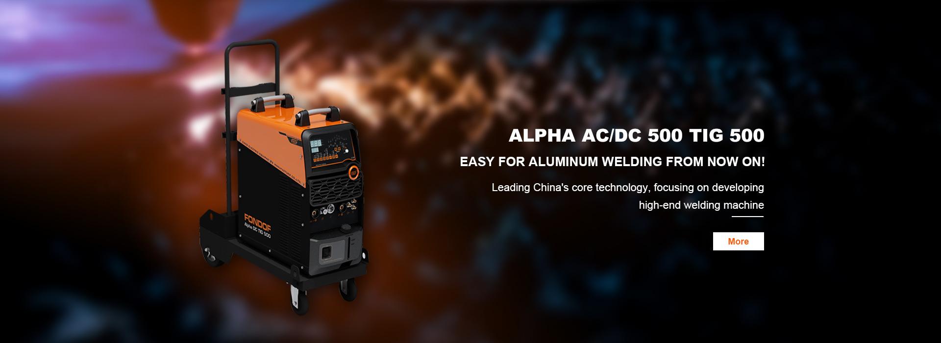 AC DC Pulse TIG Welding Machines  Alpha AC\\DC TIG 500